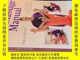 二手書博民逛書店thai罕見massage manual【泰式 手冊】Y20113 見圖 見圖