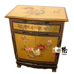 金箔漆器 小邊櫃