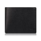 【南紡購物中心】BRAUN BUFFEL 洛菲諾P-II系列4卡零錢袋皮夾 -經典黑 BF347-315-BK