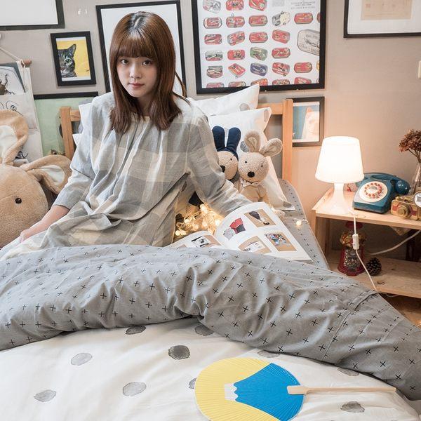黑糖珍珠 S2 單人床包雙人薄被套三件組 100%精梳棉 台灣製