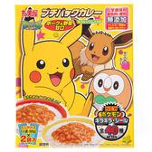 日本 丸美屋 口袋怪獸豬肉野菜風味咖哩 60gx2袋 附貼紙1枚