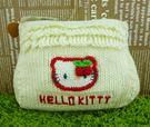【震撼精品百貨】Hello Kitty 凱蒂貓~針織手提包~米【共1款】