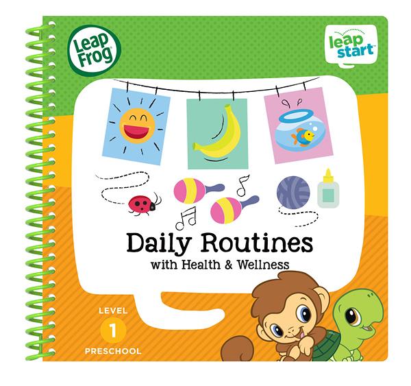 LEAP FROG 跳跳蛙 LeapStart Jr. Books幼兒4-生活習慣