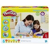 《Play-Doh 培樂多黏土》感官認知學習遊戲組←補充包 黏土 美勞用品 故事機 廣告商品