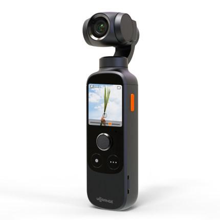 運動相機 橙影智能攝影機vlog攝像機4K高清防抖口袋手持云臺運動相機完美