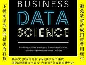 二手書博民逛書店Business罕見Data ScienceY256260 Matt Taddy Mcgraw-hill Ed