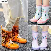 兒童雨鞋 男童女童防滑橡膠寶寶雨靴套鞋四季中筒小孩水鞋 nm14244【甜心小妮童裝】