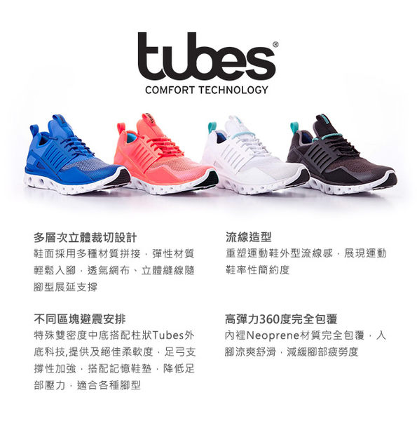 【K-Swiss】Tubes Runner CMF輕量訓練鞋-女-珊瑚粉/白