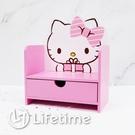 ﹝Kitty送禮造型單抽盒﹞正版 單抽盒 收納盒 置物盒 手機架 文具 凱蒂貓〖LifeTime一生流行館〗