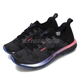Brooks 慢跑鞋 Ricochet 2 黑 藍 女鞋 運動鞋 針織鞋面 【PUMP306】 1203031B015