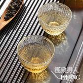 加厚耐熱貝紋玻璃杯單辦公室SMY5870【極致男人】