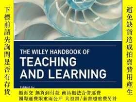 二手書博民逛書店The罕見Wiley Handbook of Teaching and LearningY410016 Gen