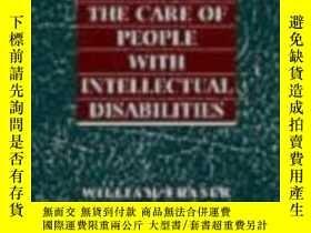 二手書博民逛書店Hallas 罕見The Care Of People With Intellectual Disabilitie