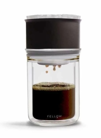 金時代書香咖啡 FELLOW Dripper Set [X] 不鏽鋼雙層真空濾杯組 1-2 杯份 FELLOW-Set-X