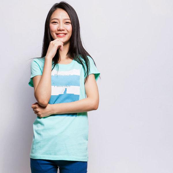 【101原創】台灣製.耐心T恤上衣(女)-6101010