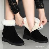 雪地靴-雪地靴女新款時尚冬季棉鞋加絨保暖英倫風短筒靴學生韓版百搭 東川崎町