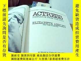 二手書博民逛書店【英文精裝】Actress--postcards罕見fom th