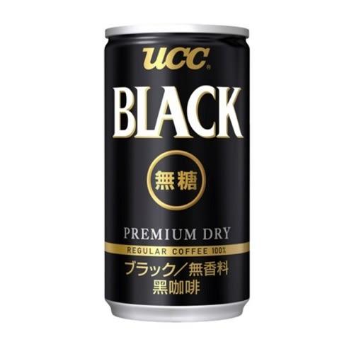 UCC BLACK無糖黑咖啡飲料 275g【愛買】
