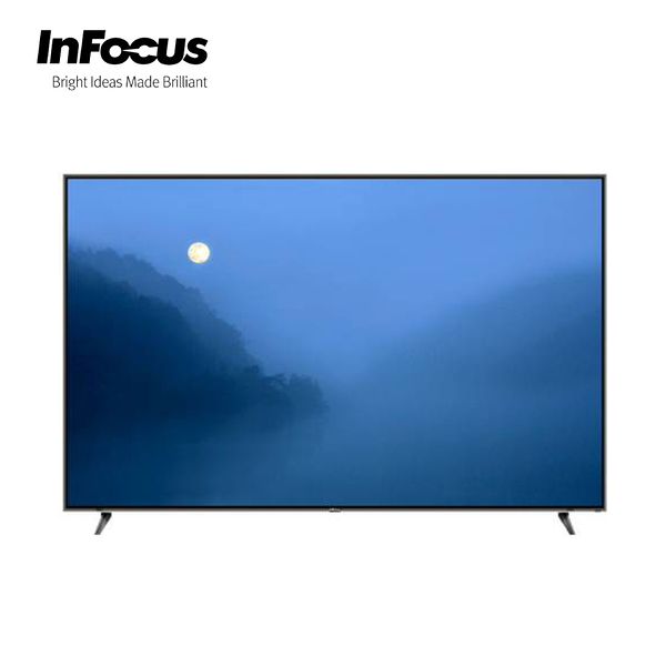 [InFocus 富可視]70吋 日本原裝面板 智慧連網液晶顯示器 WA-70UA600