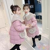 女童棉衣冬裝兒童加絨加厚棉服冬季羽絨棉襖外套童裝【聚可愛】