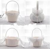 西式結婚慶禮用品道具花童花籃手提籃
