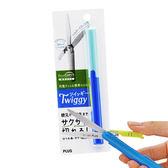 【普樂士 PLUS 剪刀】 PLUS SC-130P  攜帶式筆型剪刀 (藍色)