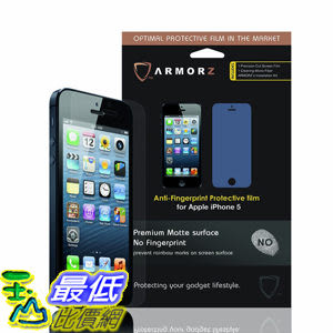ARMORZ Screen Protector for Apple iPhone 5 / 5c / 5s (Two Pack) 美國隱形神盾級 螢幕保護貼 $787