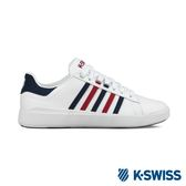 K-Swiss Pershing Court Light休閒運動鞋-女-白/藍/紅