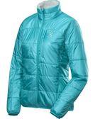 Haglofs BARRIER PRO II Q JACKET 女款化纖輕量保暖外套 2GT 青鳥藍/棉花白