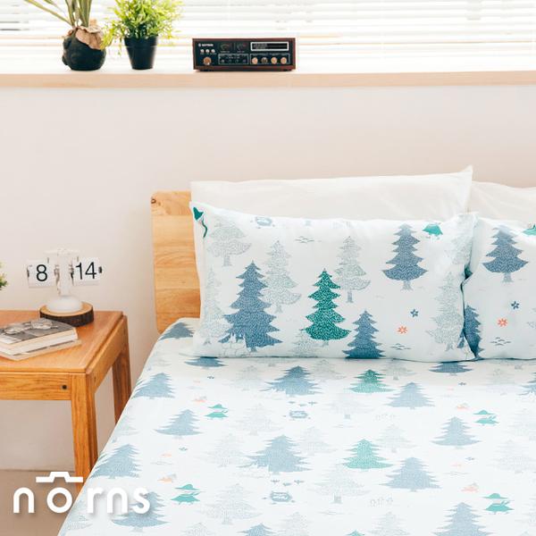 Moomin森林單人床包組- Norns 嚕嚕米 Tencel天絲™萊賽爾纖維 吸濕排汗 寢具 含床包*1 枕套*1