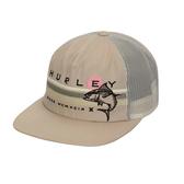 Hurley M FLY FISHIN HAT FOSSIL 棒球帽(男女)