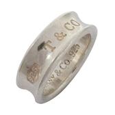 Tiffany & Co 蒂芬妮 1837系列925純銀造型戒指【二手名牌 BRAND OFF】