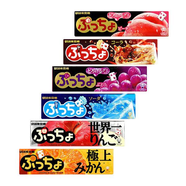 日本 UHA 味覺糖卜啾條糖 48.5g☆現貨供應☆【宇庭飾品店】