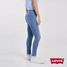 Levis 女款 Revel高腰緊身提臀牛仔褲 / 超彈力塑形布料 / 精工褲管拼接補丁 縫補細節 / 天絲棉