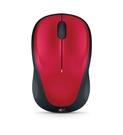 羅技無線滑鼠 M235-紅/微型接收器