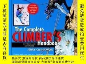 二手書博民逛書店The罕見Complete Climber s HandbookY364682 Cinnamon, Jerry
