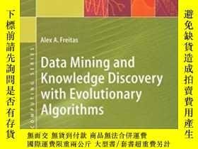 二手書博民逛書店Data罕見Mining And Knowledge Discovery With Evolutionary Al