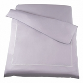 HOLA 艾維卡埃及棉刺繡被套 雙人 紫色