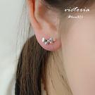 S925純銀 浪漫風格 優雅的名媛氣質耳...