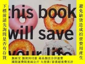 二手書博民逛書店英文原版罕見this book will save your l
