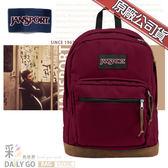 JANSPORT後背包包帆布包15吋筆電包大容量JS-43969-04S赤褐色