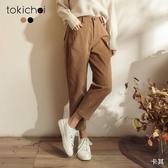 東京著衣-tokichoi-青春可愛腰側釦造型長褲-M.L(191673)