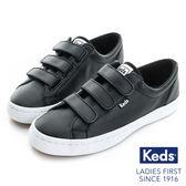 KEDS 時尚運動魔鬼氈皮質休閒鞋 黑 173W132212 女鞋