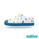 native 大童鞋 JEFFERSON 小奶油頭鞋-海底世界藍
