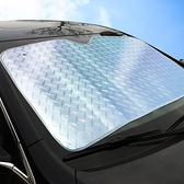 遮陽擋 汽車遮陽簾夏車窗隔熱神器車內前擋風玻璃太陽檔遮光墊遮陽板 風馳