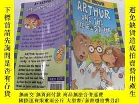 二手書博民逛書店Arthur罕見and the big bust-up亞瑟和大爆炸Y212829