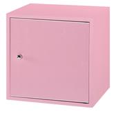 【采桔家居】極度漾彩環保1 2 尺塑鋼單門收納櫃11 色可選