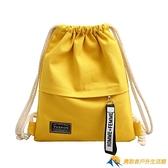 後背包男女小學生書包輕便運動帆布背包布袋補習補課包