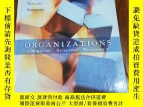 二手書博民逛書店Organizations:罕見Behavior, Struct