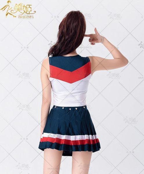 衣美姬♥少女時代 甜美學生啦啦隊服裝 足球寶貝 演出服裝 角色扮演必備